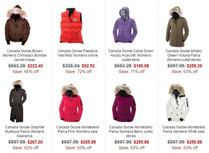 Canada Goose Outlet Jackets Online Sale